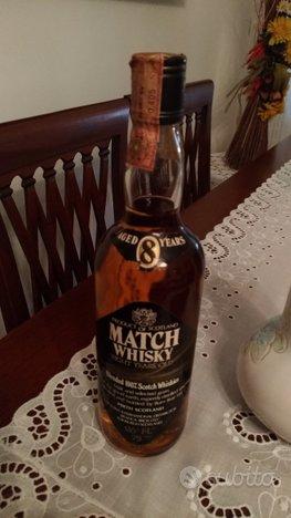 Match whisky 8 anni da collezione