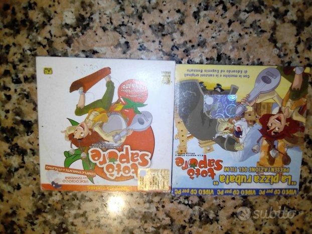 Totò Sapore - giochi PC Kinder Ferrero