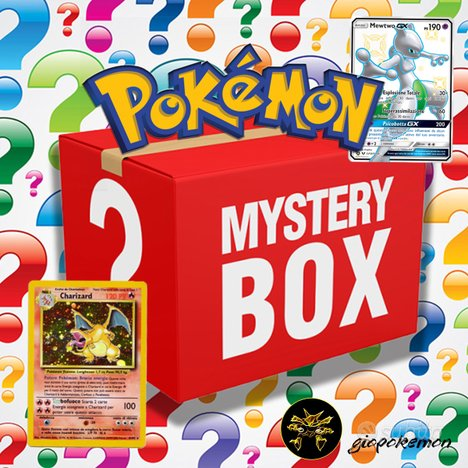 MISTERY POKEMON BOX LOTTO - Set VINTAGE e NEW