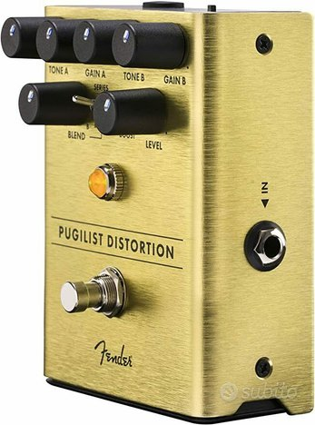 Fender Pugilist distortion pedal Effetto a pedale