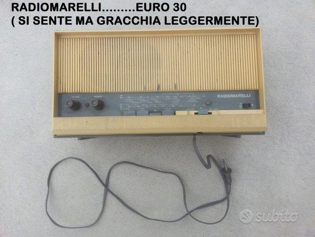 Radio marelli a valvole