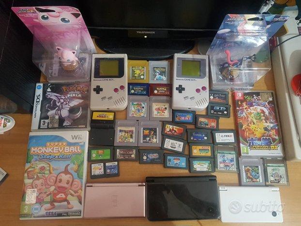Varie console e giochi