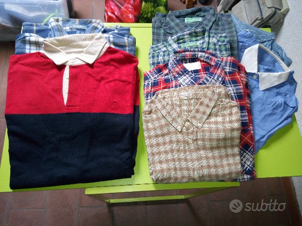 Vestiti uomo - Maglie, magliette, camicie, pan