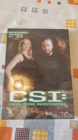 Dvd CSI quinta stagione