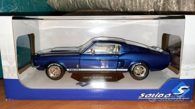 Modellino Solido 1967 Shelby Mustang GT500
