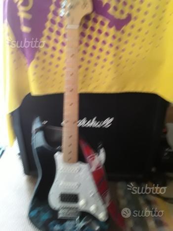Chitarra elettrica modificata
