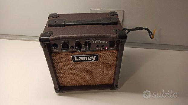 Amplificatore chitarra acustica laney la10