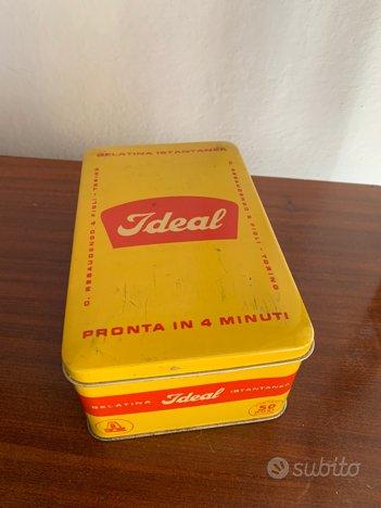 5 scatole latta vintage