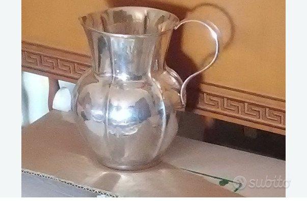 Brocca, lattiera argento 800 prima metà 1900
