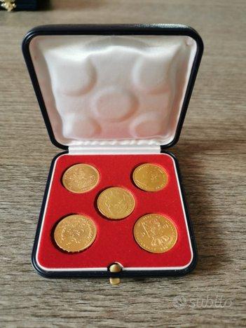 Collezione moneta oro marengo