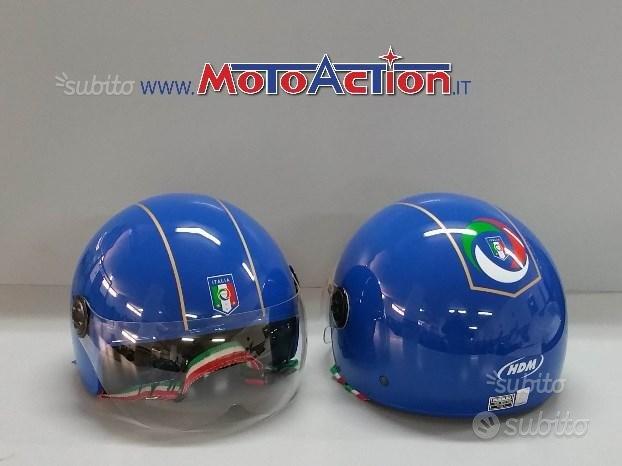 Casco HDM IT 551 figc italia jet moto scooter