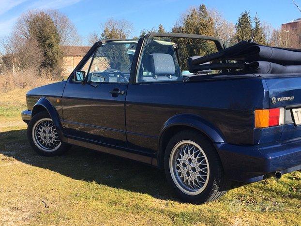 Volkswagen Golf 1 cabriolet MK1 1991 prima serie