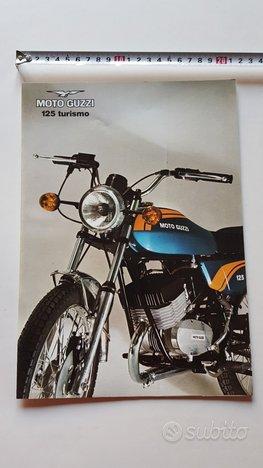 MOTO GUZZI 125 Turismo 2T 1975 depliant originale