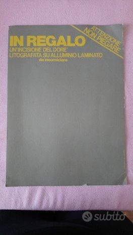 Incisione Litografia alluminio laminato diluvio