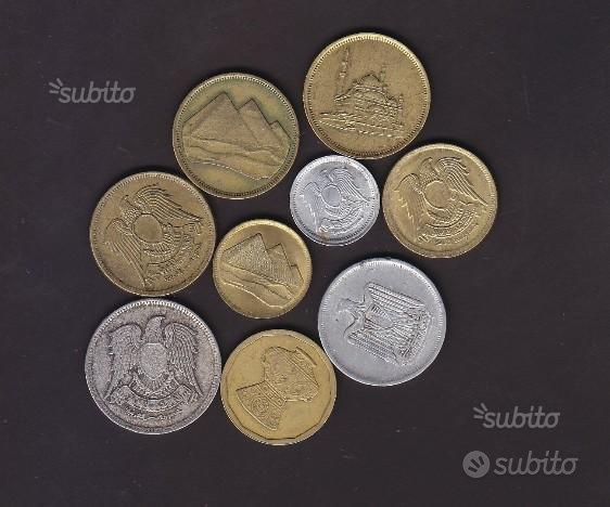 9 monete EGITTO lotto B