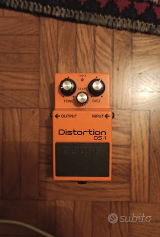 Pedale Boss Distortion DS-1