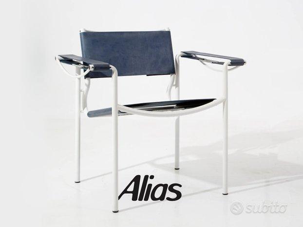 Sedie pelle ALIAS Spaghetti 109 design G Belotti,Driade