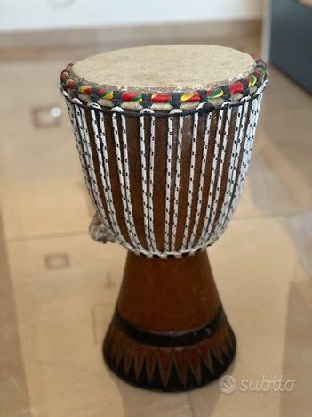Bongo in legno African original Djembè Jambe Jham