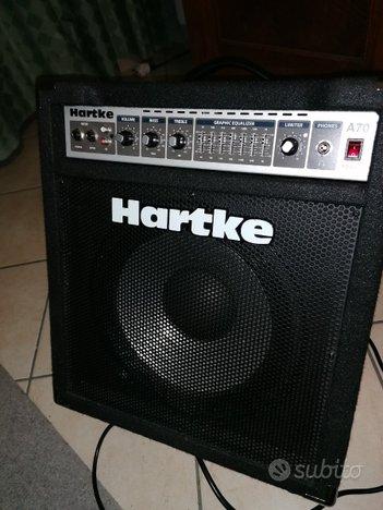 Amplificatore combo per basso HARTKE A 70