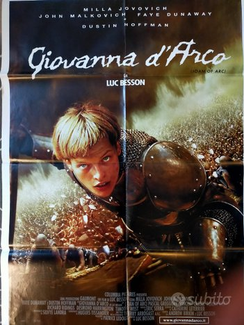Manifesto film Giovanna d'Arco