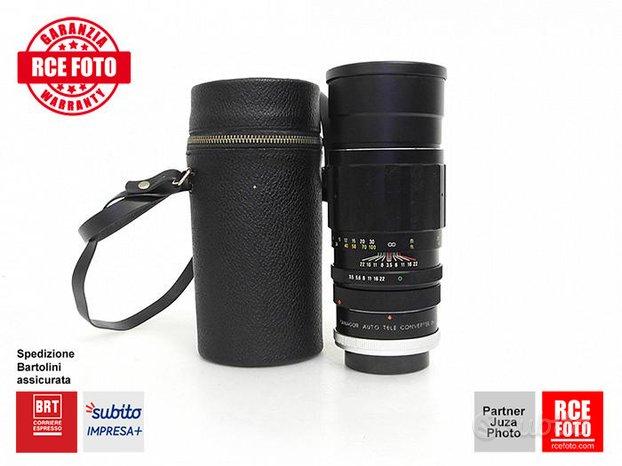 Tokina 200 F3,5 per Canon FD per Teleconverter 2X