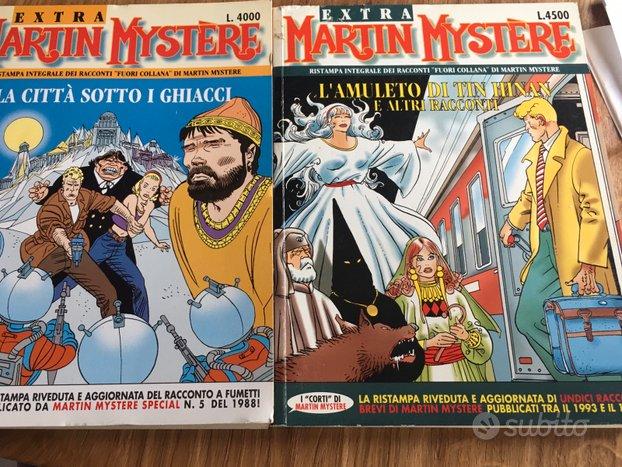 Fumetti Martin Mystére numeri extra 7 e 12