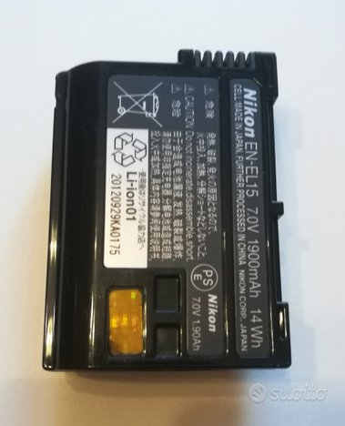 Batteria Nikon EN-EL15