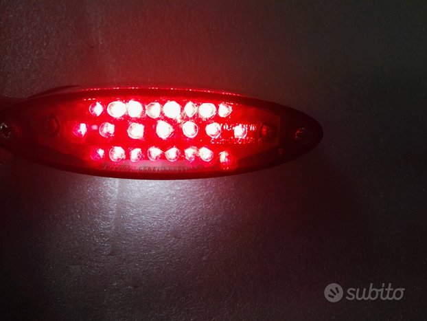 STOP FANALINO POSTERIORE LED ovale 0154