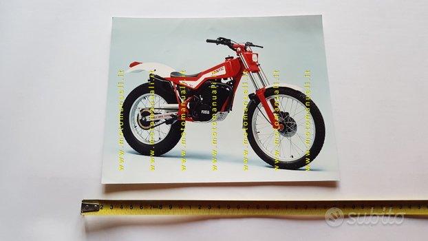 Fantic Motor Trial 301 1985 foto cartella stampa