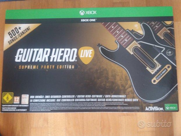 Guitar Hero Live supreme party edition 2 chitarre