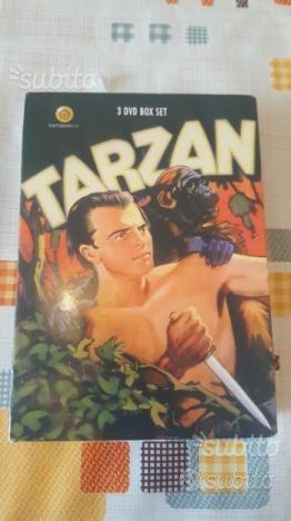 Cofanetto dvd Tarzan