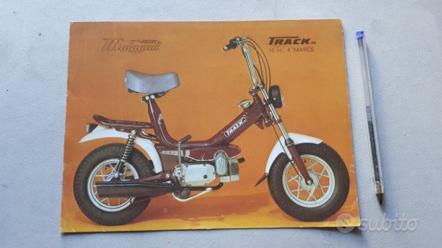Malaguti Track 50 depliant moto ciclomotore