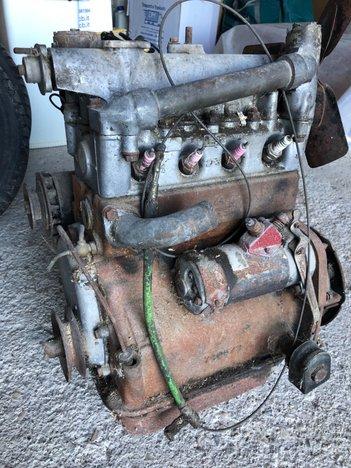 Fiat 500c belvedere topolino. Motore da revisione