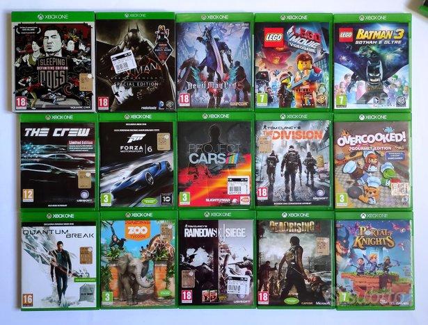 Diversi giochi Xbox ONE ORIGINALI ed accessori