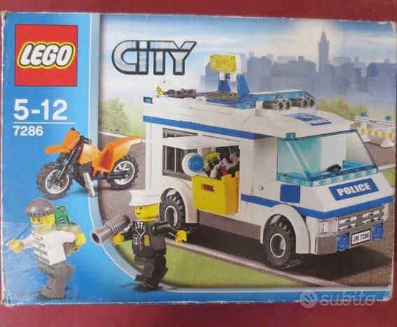 Lego city 7286 trasporto prigioniero completo 100%