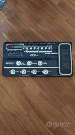 Pedaliera Zoom G7. 1UT per Chitarra Elettrica