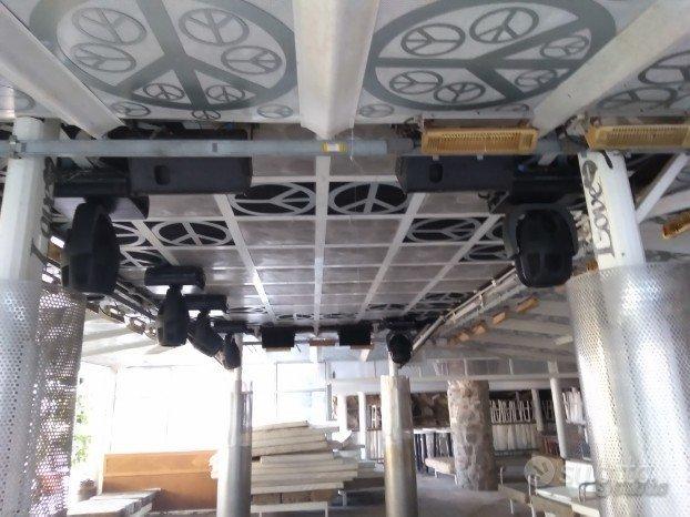 Teste mobili luci varie audio tetto soro