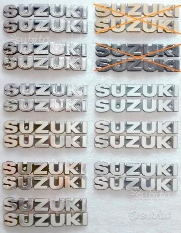 Scritte serbatoio Suzuki