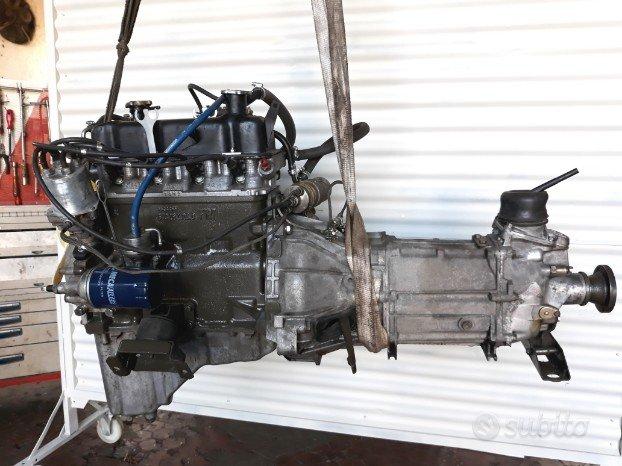 Fiat AR 76 Campagnola 1107, motore e cambio