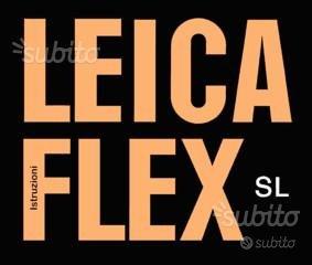 Leica Libretto Leicaflex Serie M R Leicameter vari