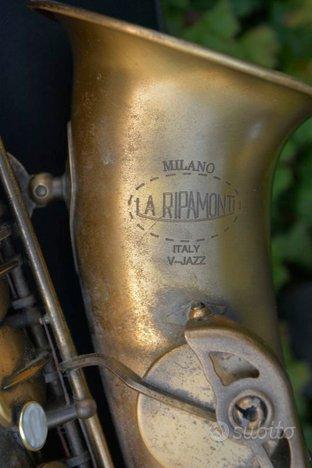 Sax contralto Buescher Big B,Ripamonti V Jazz,Orsi