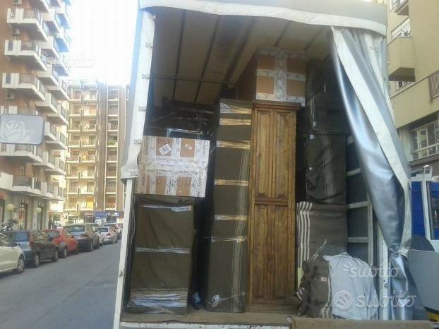 Traslochi piccoli trasporti noleggio furgoni