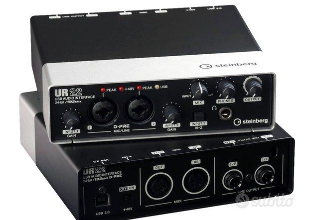 Interfaccia audio Steinberg UR22