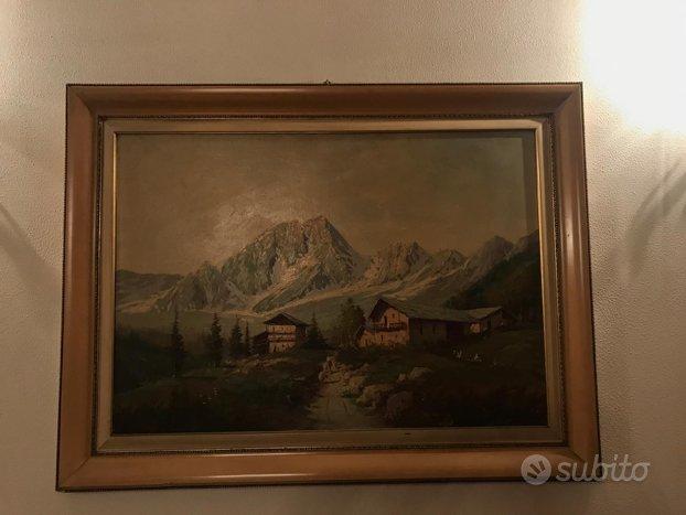 Quadro ad olio del pittore De Grandi