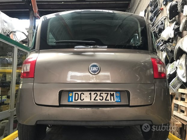 Posteriore Fiat Multipla anno 2007