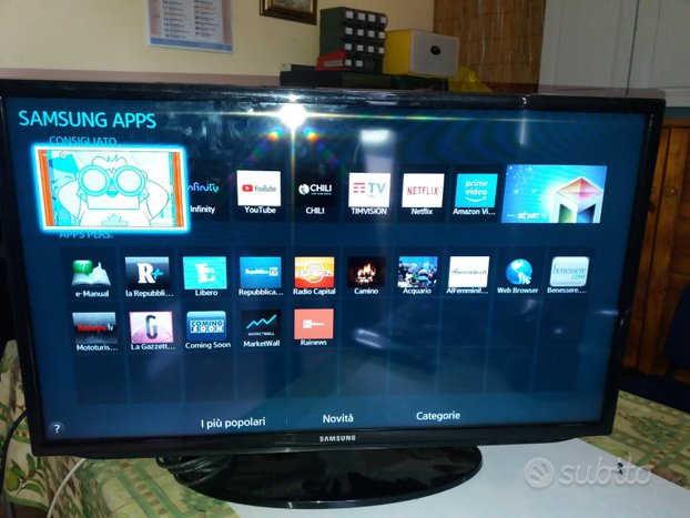 Smart tv 32 pollici a led Samsung in full Hd