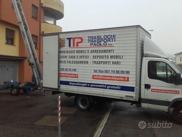 Traslochi, Trasporti, Montaggio Mobili a Bologna
