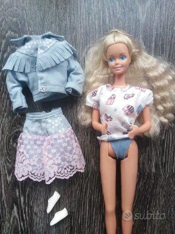 Barbie Feelin fun jeans anni 80 vintage con outfit