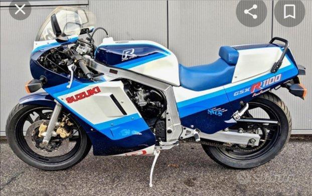 Suzuki gsxr 1100 86/88