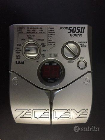 Multieffetto per chitarra Zoom
